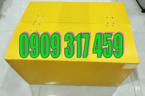 thùng nhựa carton giá rẻ.